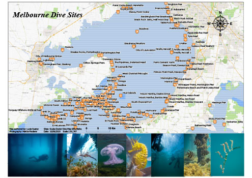 Melbourne Dive Sites
