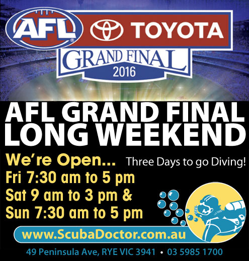 AFL Grand Final Long Weekend Opening Hours 2016