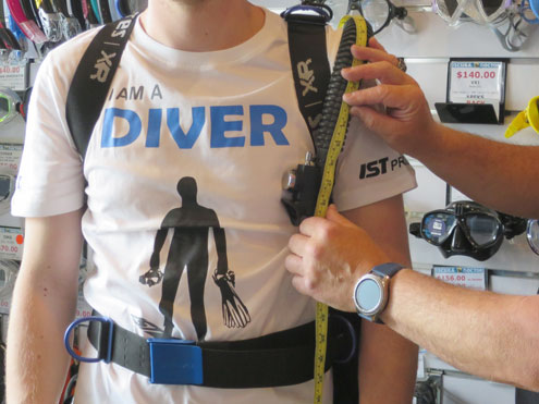 Bespoke Scuba Fitting Service from The Scuba Doctor