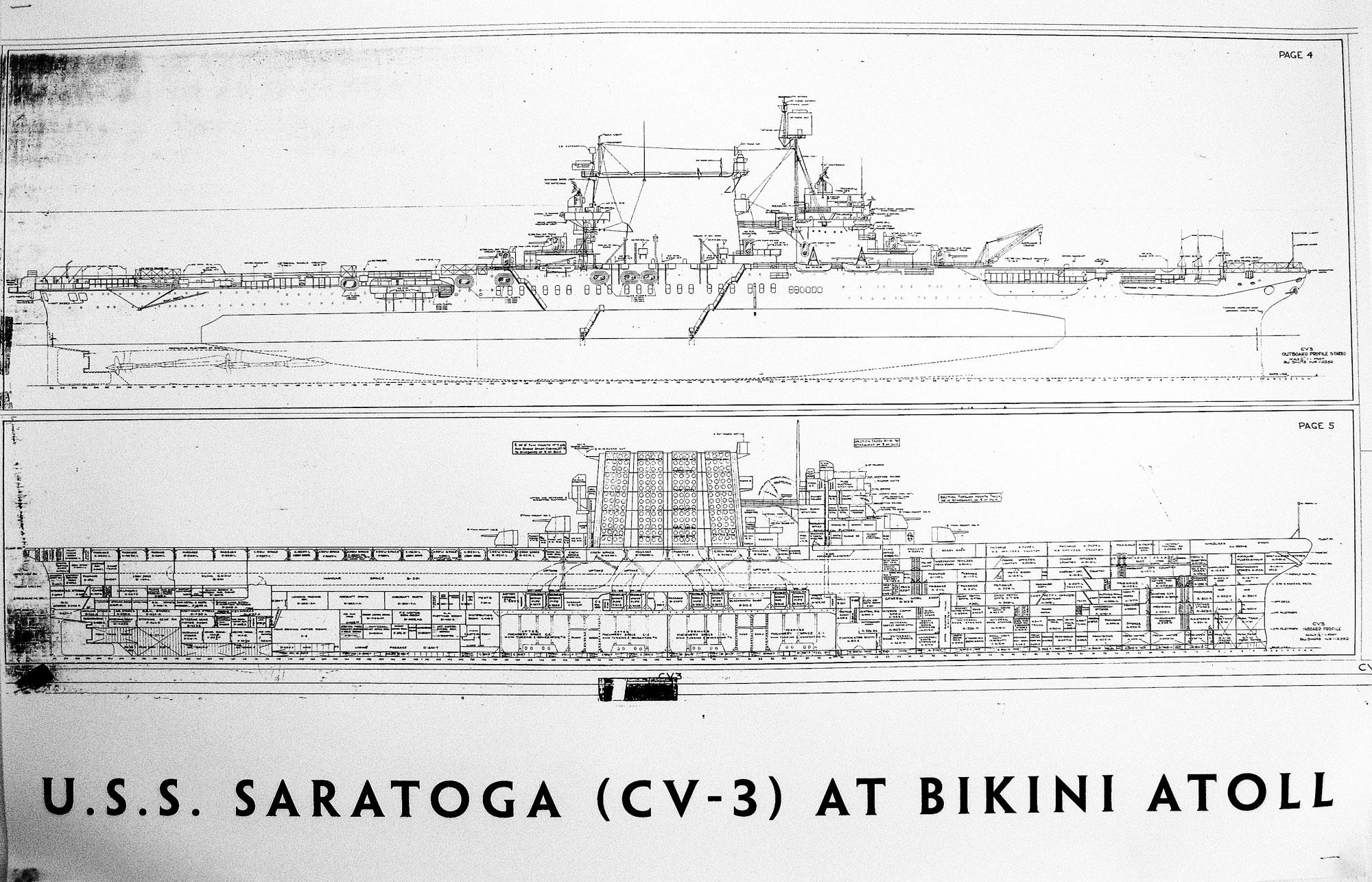 Scuba Dive Bikini Atoll The Doctor 200 Amp Sub Panel Wiring Diagram Plans Of Aircraft Carrier Uss Saratoga Cv 3