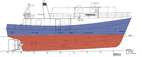 MV Windward layout/schematic