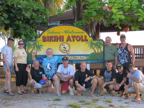 Bikini Atoll Dive Expedition October 2012