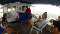 History lesson and dive briefing