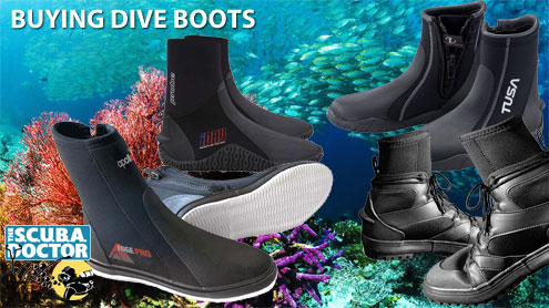 Buying Dive Boots