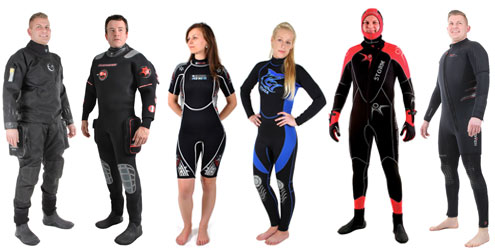 Buying a Wetsuit or Drysuit from The Scuba Doctor