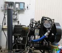 15 CFM Ingersoll Rand Air compressor at The Scuba Doctor