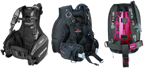 BCD Features from The Scuba Doctor