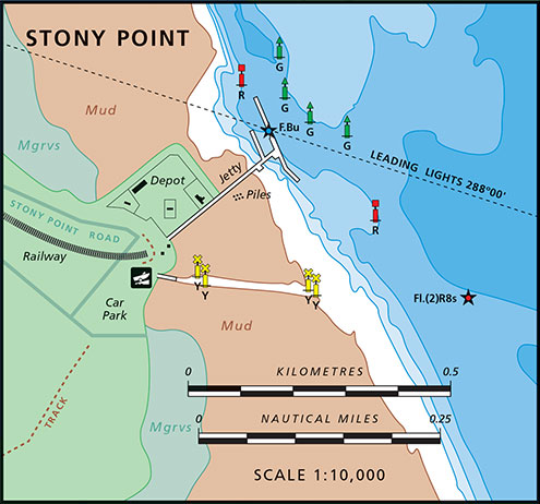 Stony Point Map