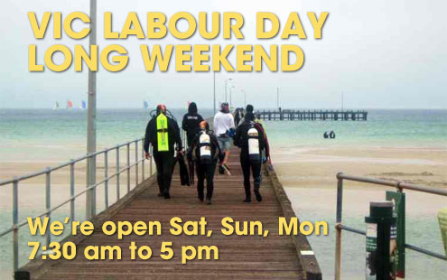Labour Day Long Weekend Opening Hours