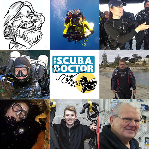 Meet The Team at The Scuba Doctor