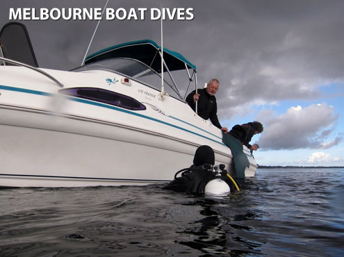 Melbourne Boat Dives by The Scuba Doctor