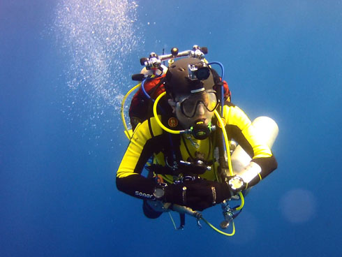 Perfect Scuba Diving Weighting