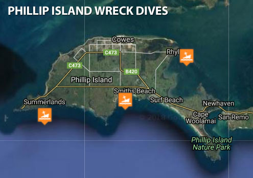 Phillip Island Wreck Dives The Scuba Doctor