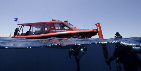 Book Online for RedBoats.com.au Dive Charter