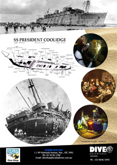SS President Coolidge Information Guide PDF 1,369 Kb