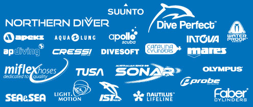 Selected Product Range from The Scuba Doctor
