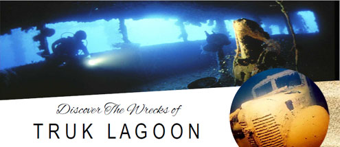 Discover the Wrecks of Truk Lagoon