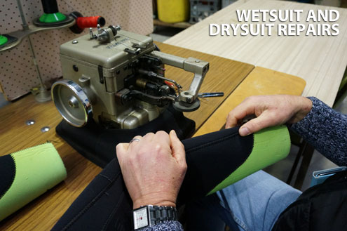 Wetsuit and Drysuit Repairs
