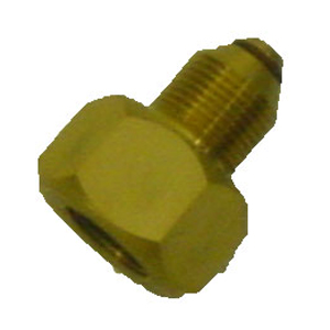 Alpha DIN Female to Bullnose Male Adapter - 200/300 Bar