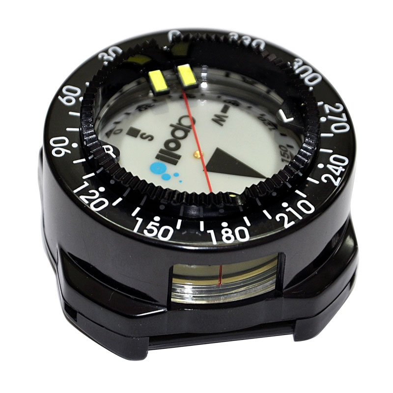 Apollo AC-40 Diving Compass in Housing with No Strap