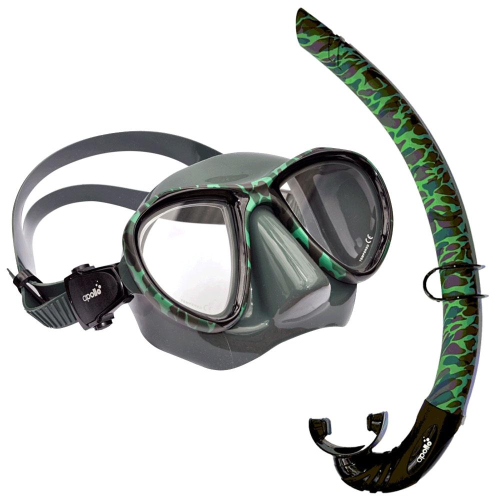 885fa9173250 Apollo SVS Pelagio Mask and Snorkel Set - The Scuba Doctor Dive Shop