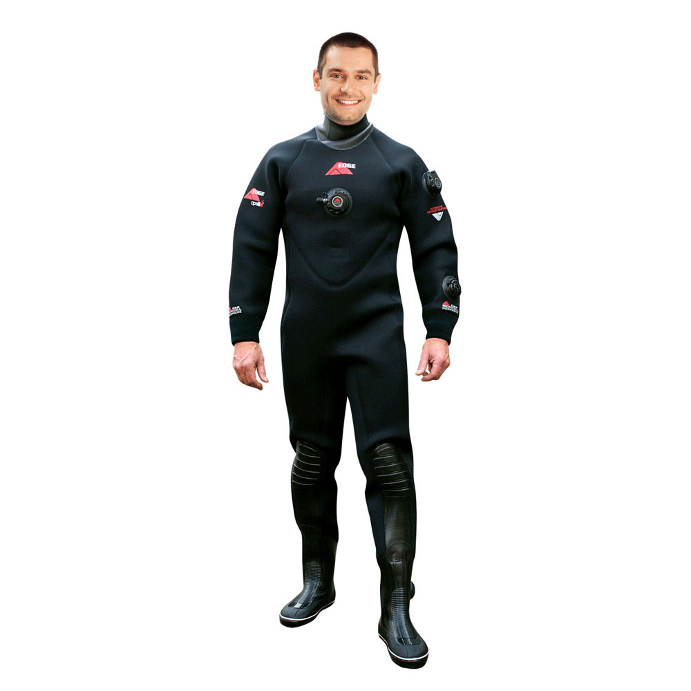 Apollo Edge Drysuit with Boots - Unisex