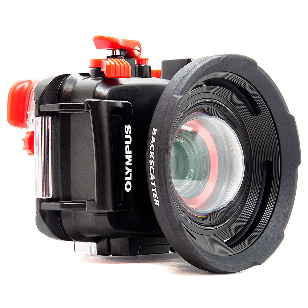Backscatter M52 Wide Angle Air Lens for Olympus TG Series - Click Image to Close