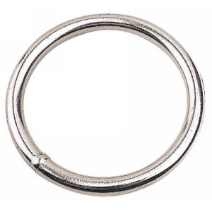 Round Rings 60mm (2.4 inch) - Stainless Steel - Pair