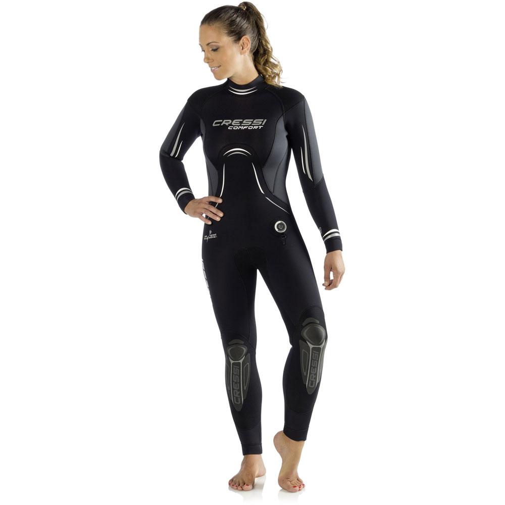 3cd5fc5676 Cressi Comfort Wetsuit - Ladies 5mm - The Scuba Doctor Dive Shop