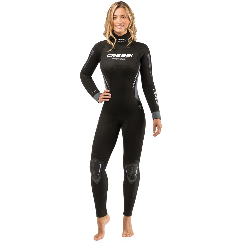 6a126af9e78f Cressi Fast Wetsuit - 7mm Ladies - The Scuba Doctor Dive Shop