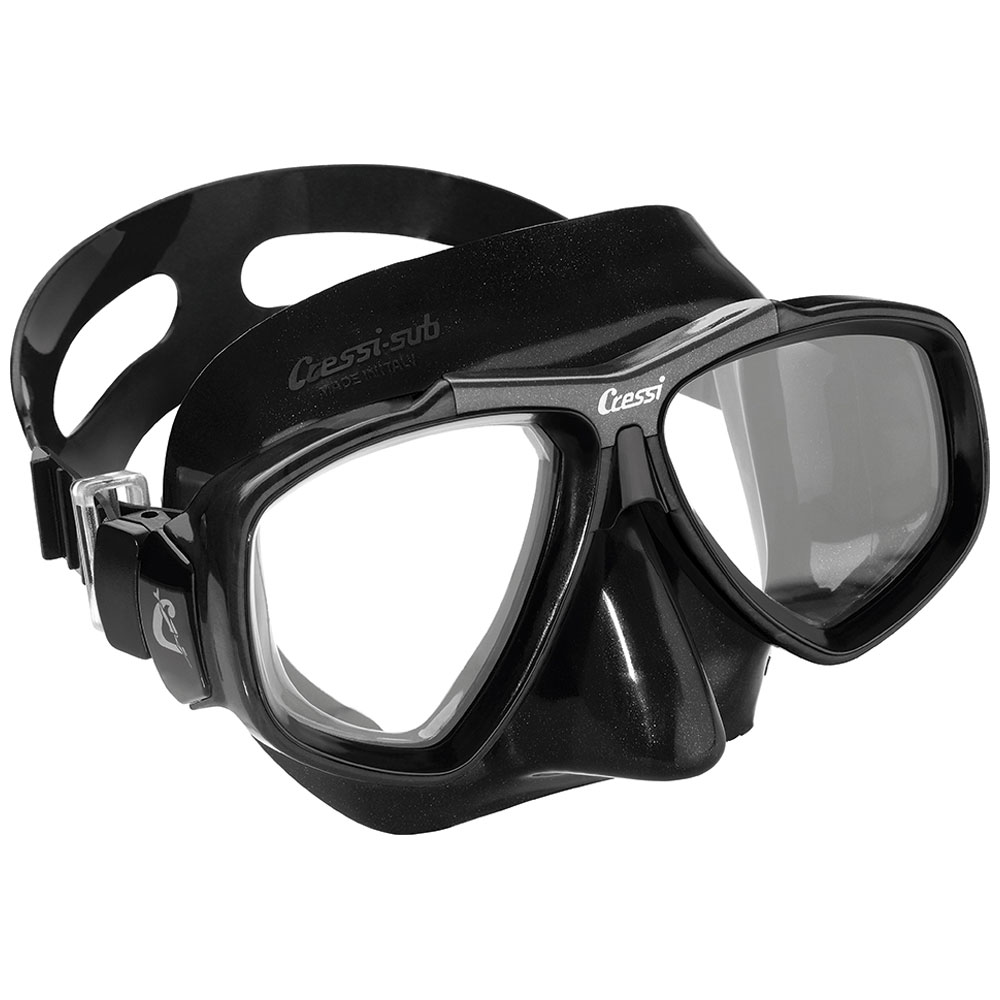 Cressi Focus Black Mask with Corrective Lenses -