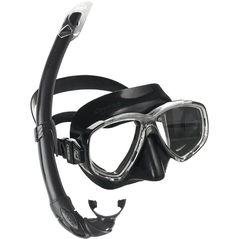 Cressi Perla Mare Mask and Snorkel Set - The Scuba Doctor Dive Shop