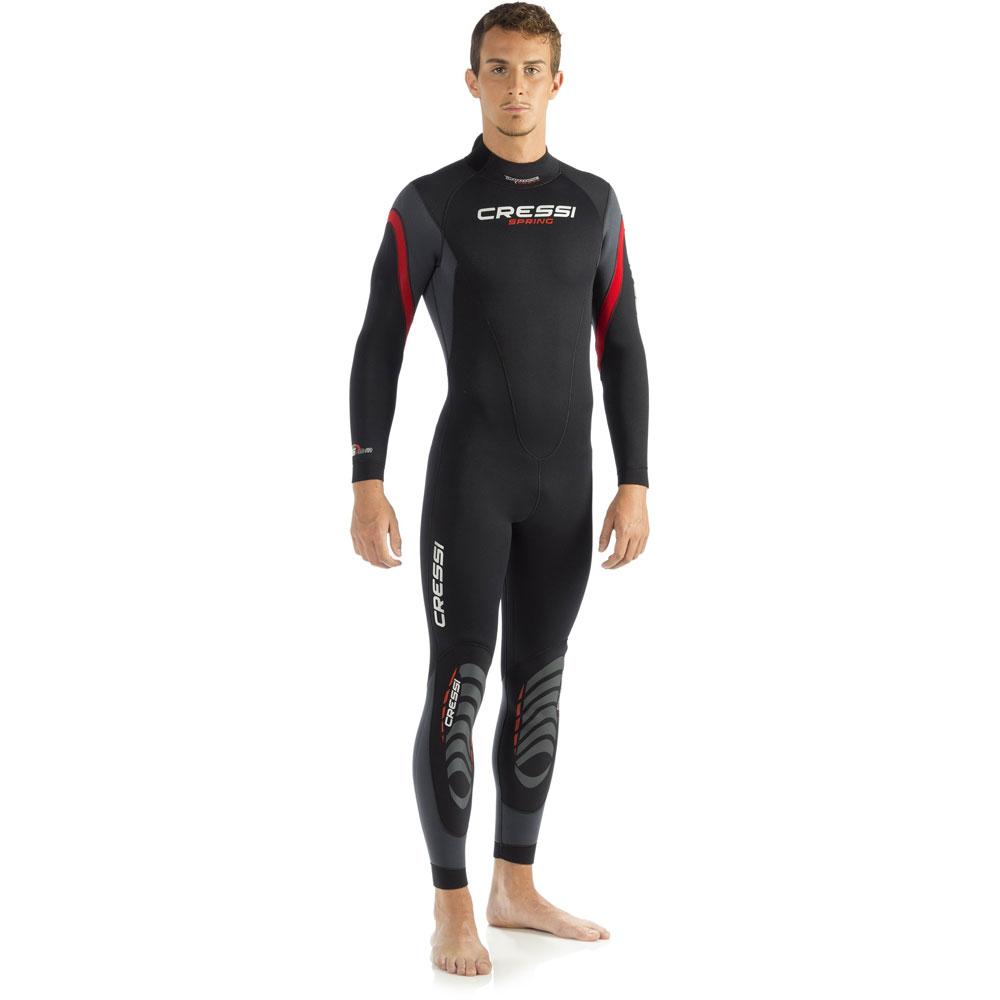 2d0b7355fb Cressi Spring Wetsuit - 5mm Mens Unisex - Discontinued - The Scuba Doctor  Dive Shop