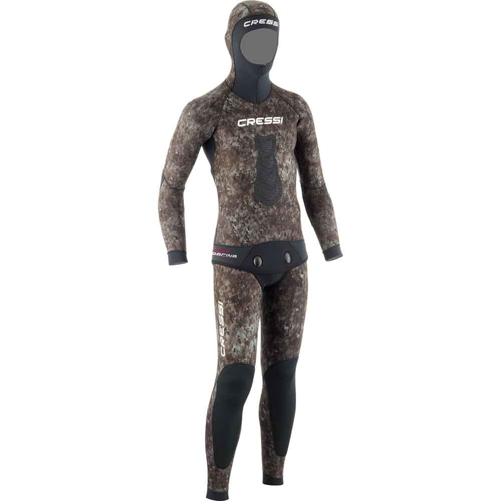 Cressi Tracina Two Piece Spearfishing Wetsuit - 3.5mm Mens