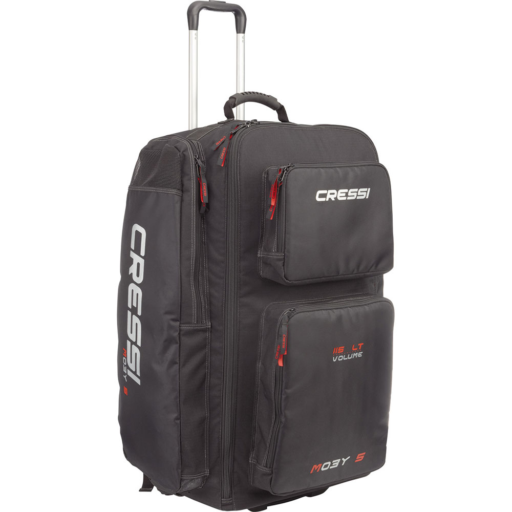Cressi Moby 5 Bag with Wheels - 115 lt