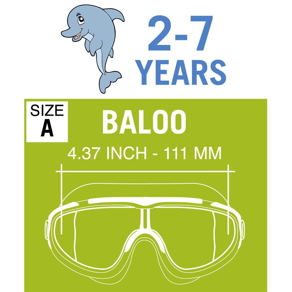 e7c93731a2 Cressi Baloo Kids Swim Goggles (2-7 Years)