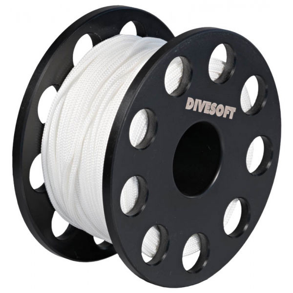 Divesoft Emergency Finger Spool Reel - 90 metre