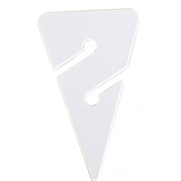 Dolphin Tech Cave/Wreck Line Arrow Markers Large White (5 Pack)