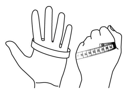 Fourth Element Glove Sizing