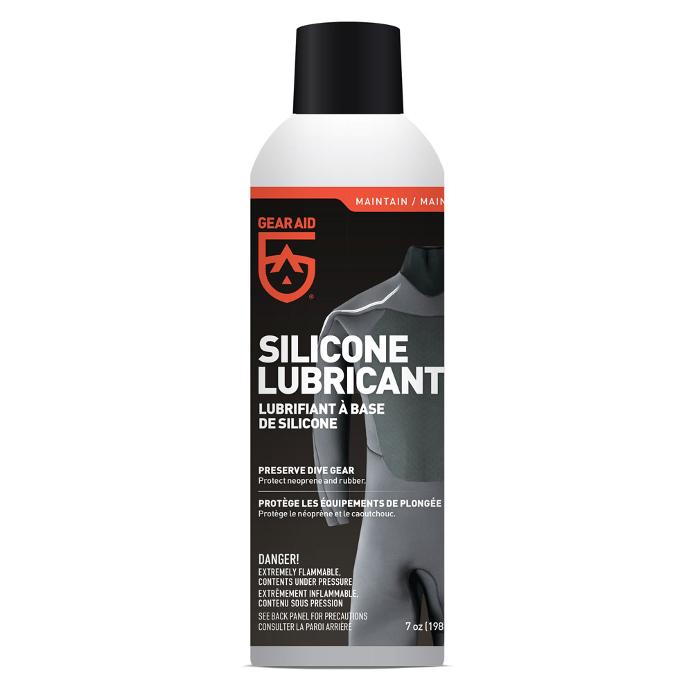 Uitzonderlijk Gear Aid Silicone Lubricant Spray (198g) - The Scuba Doctor Dive Shop XH74