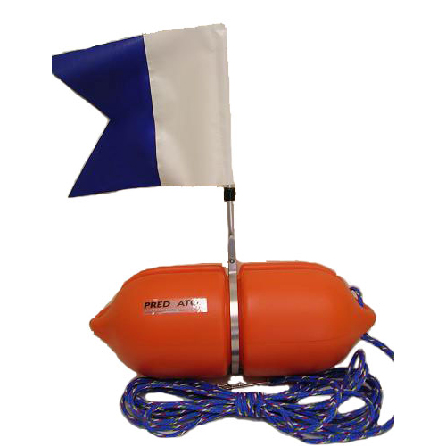 Predator Alpha Dive Flag and Float - Large