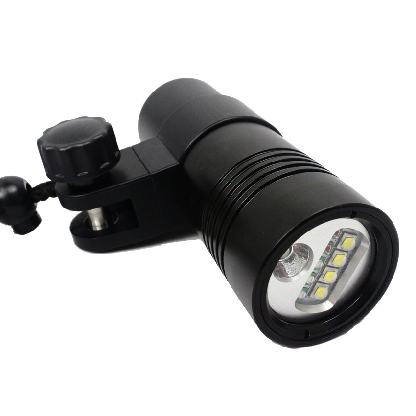 Hi-Max V14 Underwater Video Light 2400LM with Red/UV/White