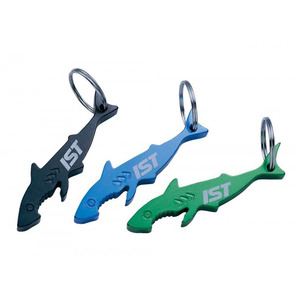 IST Sports Shark Shaped Bottle Opener and Key Chain