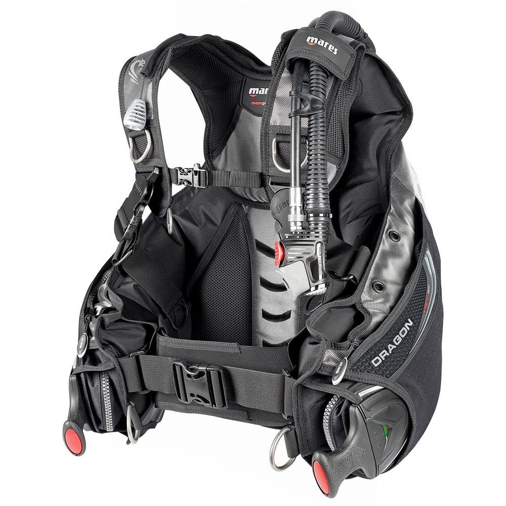 Mares Dragon Bcd With Sls Weight System The Scuba Doctor