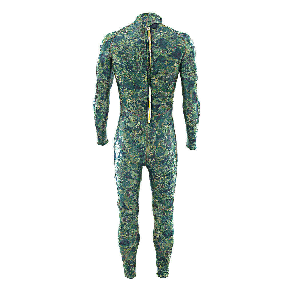 Mares Phantom Steamer Green Camo Spearfishing Wetsuit - 5mm - Click Image to Close