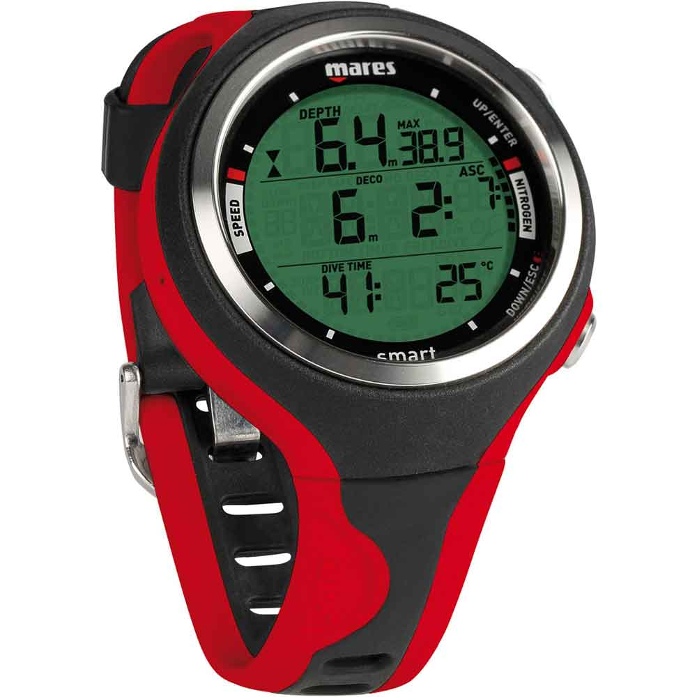 Mares smart watch wrist dive computer the scuba doctor - Computer dive watch ...