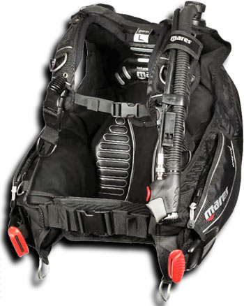 Mares Dragon BCD with MRS Plus Weight Pockets