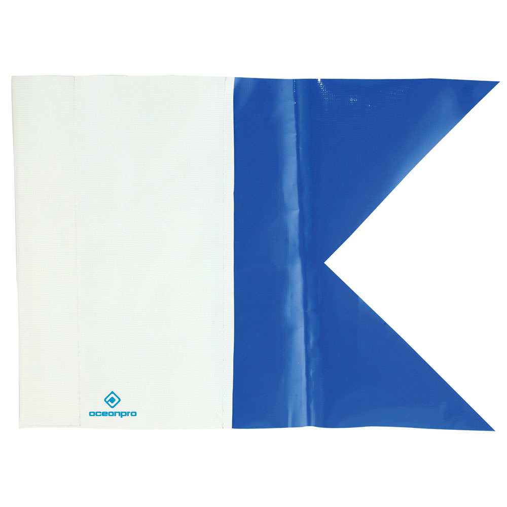 Ocean Pro Alpha Dive Flag - Extra Large