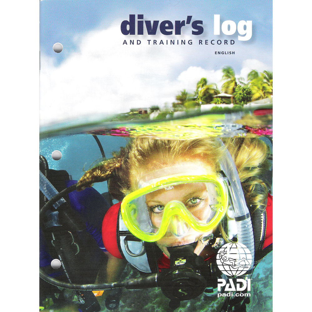 Padi diver 39 s log book and training record the scuba doctor dive shop - Dive log book ...