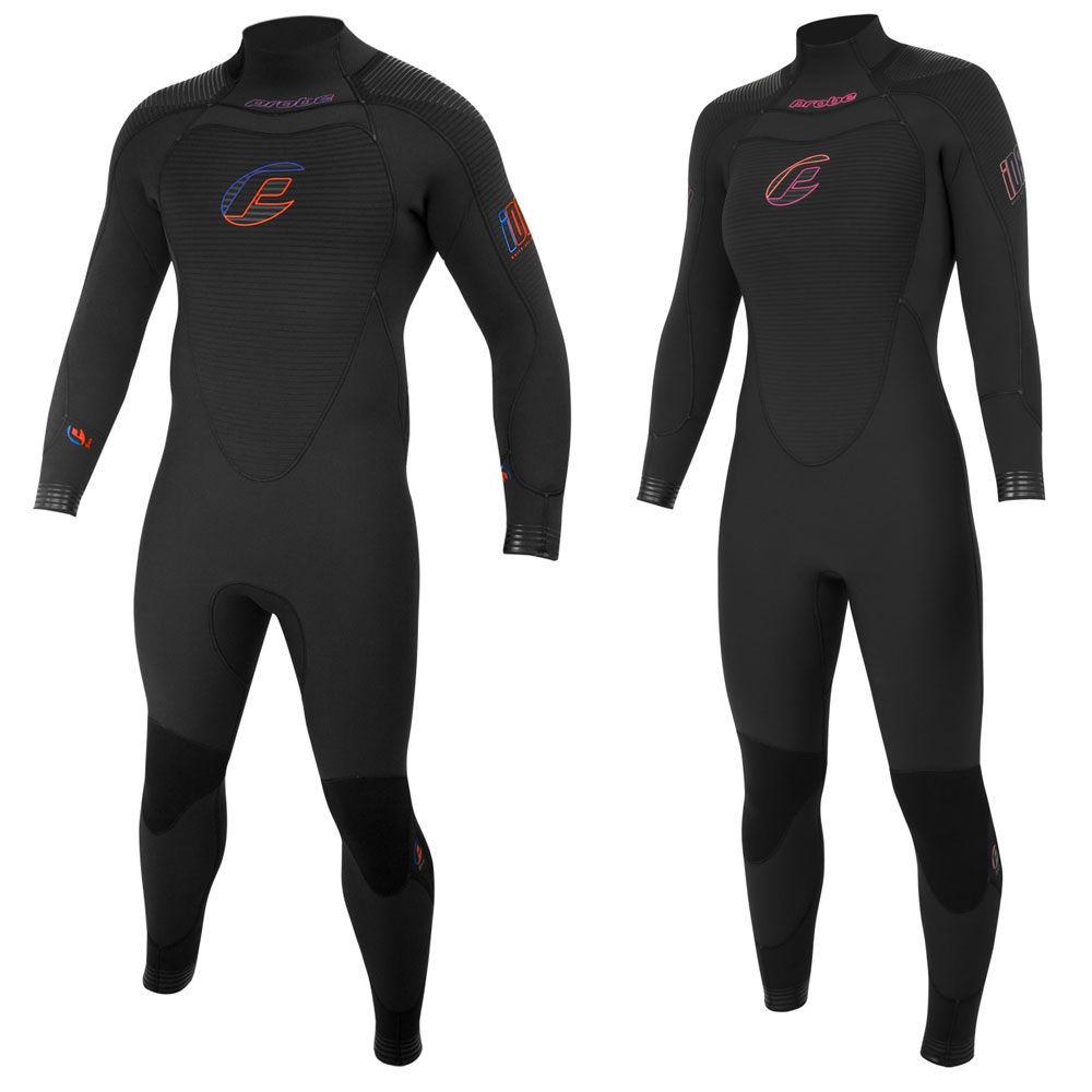 Probe iDry 3mm Quick-Dry Semi-Dry Suit (Back Zip)